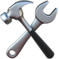 Hammer and Wrench on Apple iOS 11.3