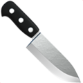 Kitchen Knife on Apple iOS 11.3