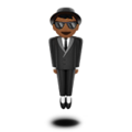 Man in Suit Levitating: Medium-Dark Skin Tone on Apple iOS 11.3