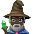 Man Mage: Dark Skin Tone on Apple iOS 11.3