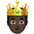 Prince: Dark Skin Tone on Apple iOS 11.3