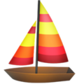 Sailboat on Apple iOS 11.3