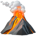 Volcano on Apple iOS 11.3