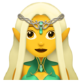 Woman Elf on Apple iOS 11.3