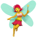 Woman Fairy on Apple iOS 11.3