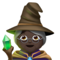Woman Mage: Dark Skin Tone on Apple iOS 11.3