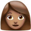 Woman: Medium Skin Tone on Apple iOS 11.3