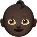 Baby: Dark Skin Tone on Apple iOS 10.3