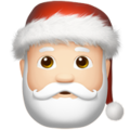 Santa Claus: Light Skin Tone on Apple iOS 10.3