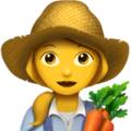 Woman Farmer on Apple iOS 10.3