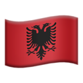 Albania on Apple iOS 10.3