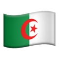 Algeria on Apple iOS 10.3