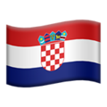 Croatia on Apple iOS 10.3
