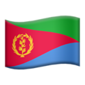 Eritrea on Apple iOS 10.3