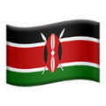 Kenya on Apple iOS 10.3