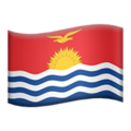 Kiribati on Apple iOS 10.3