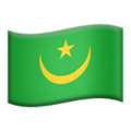 Mauritania on Apple iOS 10.3