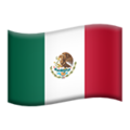 Mexico on Apple iOS 10.3