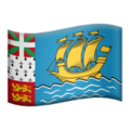 St. Pierre & Miquelon on Apple iOS 10.3