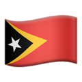 Timor-Leste on Apple iOS 10.3