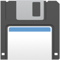 Floppy Disk on Apple iOS 10.3