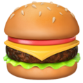 Hamburger on Apple iOS 10.3