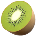 Kiwi Fruit on Apple iOS 10.3