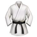 Martial Arts Uniform on Apple iOS 10.3