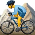 Person Mountain Biking on Apple iOS 10.3