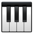 Musical Keyboard on Apple iOS 10.3