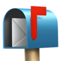Open Mailbox With Raised Flag on Apple iOS 10.3