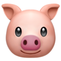 Pig Face on Apple iOS 10.3
