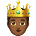 Prince: Medium-Dark Skin Tone on Apple iOS 10.3