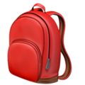 School Backpack on Apple iOS 10.3
