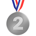 2nd Place Medal on Apple iOS 10.3