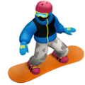 Snowboarder on Apple iOS 10.3