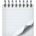 Spiral Notepad on Apple iOS 10.3
