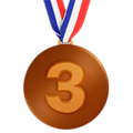 3rd Place Medal on Apple iOS 10.3