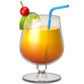 Tropical Drink on Apple iOS 10.3