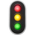 Vertical Traffic Light on Apple iOS 10.3