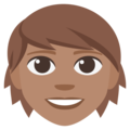 Adult: Medium Skin Tone on EmojiOne 3.1