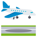 Airplane Arrival on EmojiOne 3.1