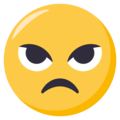 Angry Face on EmojiOne 3.1