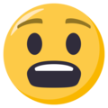 Anguished Face on EmojiOne 3.1