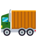 Articulated Lorry on EmojiOne 3.1