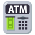 Atm Sign on EmojiOne 3.1