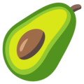 Avocado on EmojiOne 3.1
