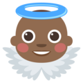 Baby Angel: Medium-Dark Skin Tone on EmojiOne 3.1