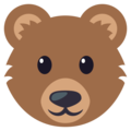 Bear Face on EmojiOne 3.1
