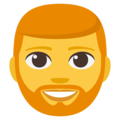 Bearded Person on EmojiOne 3.1
